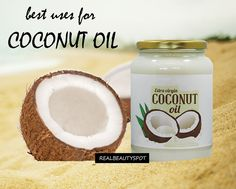 Best Ways to use Coconut oil for skin and hair - ♥ Real Beauty Spot ♥