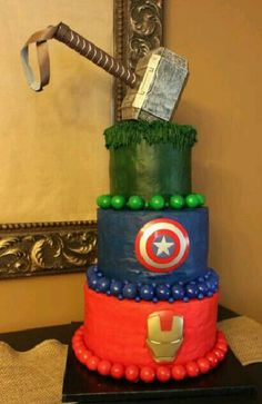 Wonder Woman Cake baby Wonder woman Pinterest Wonder woman