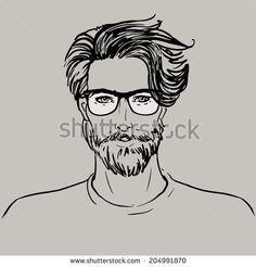 man face vector - Recherche Google