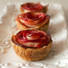mini rose apple pie recipe on fmitk.com