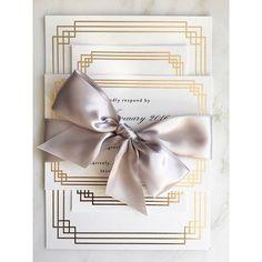 Beautiful Art Deco Gold Foiled Invitationsby @SilkBeau ❤ #savethedate #invite #invitation #stationery #weddingstationery #invitations #weddinginvitation #weddinginvite #weddinginspiration #weddingideas #weddingplanning #weddingday #instawedding #instabride #bridetobe #bride #engaged #engagement #weddingdress #weddingcake #cake #iloveyou #instagood #love #beautiful #wedding #gold  Follow @SilkBeau ❤ Follow @SilkBeau ❤ Follow @SilkBeau ❤ Follow @SilkBeau ❤