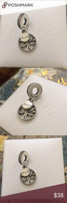 Pandora Family Heritage Tree Pandora Family Heritage Tree charm Authentic Pandora Jewelry Bracelets