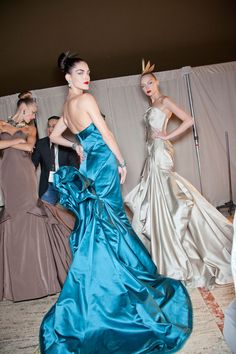 Zac Posen at New York Fashion Week Fall 2012