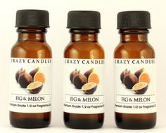 Fig and Melon 3 Bottles Fl Oz Each Premium Grade Scented Fragrance Oil By Crazy Candles >>> You can get more details here : aromatherapy oils Aromatherapy Oils, Fragrance Oil, Fig, Feel Good, Bottles, Candles, Feeling Great Quotes, Ficus, Candy