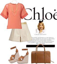 """CHLOE"" by fashionmonkey1 ❤ liked on Polyvore"