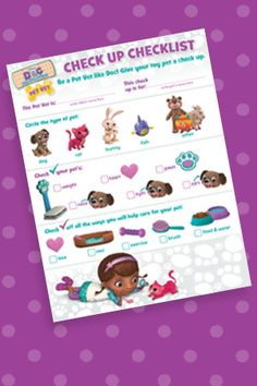 Doc McStuffins activities and printables from Disney Jr