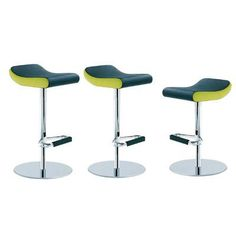 "Segis U.S Jo-Bim 27.56"" Swivel Bar Stool Base Finish: Powder Coat White, Upholstery: Momentum Fuse Fabric Azurean"