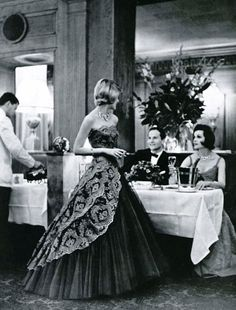 Dress by Carven, 1960.