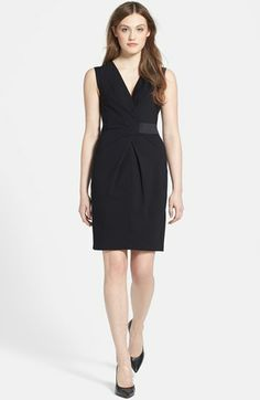 Kenneth Cole New York 'Samantha' Stretch Knit Dress (Petite) available at #Nordstrom