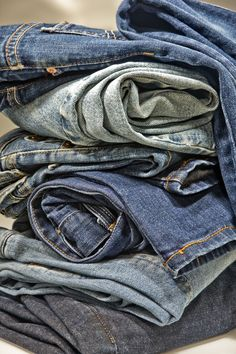 Do you have jeans that don't fit or have a rip? Here are some recycle sewing projects for your denim to make clothing and items you can wear and use.