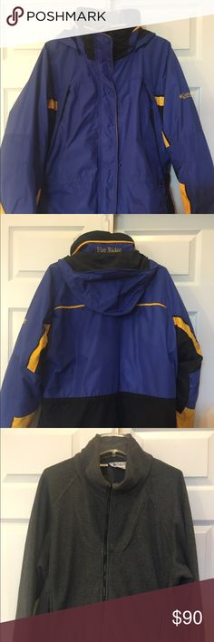Womens Columbia Coat size XL Womens Womens Columbia Coat size XL Womens with full fleece jacket inside like new Columbia Jackets & Coats