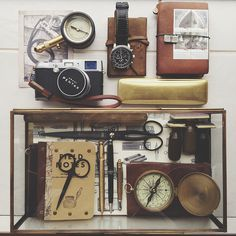 New brass frame box for the tools I love | Flickr - Photo Sharing!