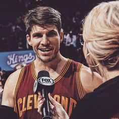 """""""It's been good and I'm feeling more and more comfortable by the week. And I'm really excited for what's about to come."""" - @kkorv26 ---------------------------------------------------- Visit cavs.com to catch up with Kyle Korver after his first month with the Wine & Gold."""