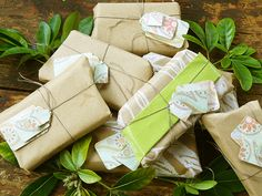 savons-emballés Simple Living, Bath And Body Works, Diy, Gift Wrapping, Gifts, Home Made, Homemade Soap Recipes, Simple House, Soaps