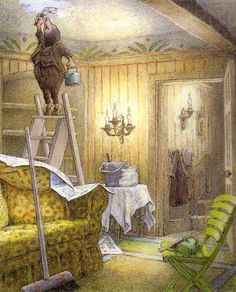 Kenneth Grahame, The Wind in the Willows.  Illustrations by Inga Moore