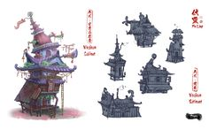 ArtStation - Fuling-Props Architecture, LUO LIN