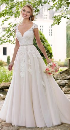 CC's Boutique offers the Stella York Bridal gowns at a wonderful price. Call today to verify our pricing and availability for the Stella York Bridal dress. Stella York is available at our Ivory and Lace Bridal Boutique in Tampa. Spring 2017 Wedding Dresses, Dream Wedding Dresses, Bridal Dresses, Cotillion Dresses, Disney Wedding Dresses, Dresses Dresses, Spring Dresses, Bridesmaid Dresses, Bridal Sash