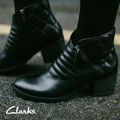 Clarks Autumn/Winter 2014 Collection   Women's boots   Movie Retro   Moto boots   Biker boots