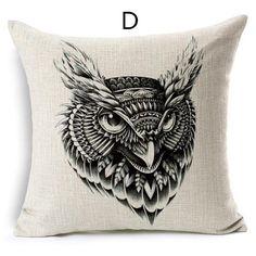 Creative elephant throw pillows cheap geometric animal design sofa cushions