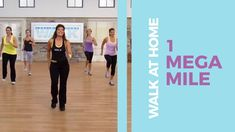 Are you ready to Walk today? You will feel so GOOD after this FAST 1 MEGA mile workout! Let's WALK everybody. Pilates Studio, Pilates Reformer, Easy Workouts, At Home Workouts, Dance Workouts, Butt Workouts, Dumbbell Workout, Burn Thigh Fat, Walking Videos