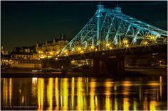 Das blaue Wunder von Dresden