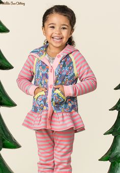 Make Believe, Fall 2017; Cuddle Me Hoodie. Brushed French terry lined hoodie with cute woodland creature print.