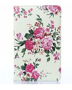 Galaxy Tab4 7.0 inch Case Fashion Beautiful Peony Flowers Synthetic Leather Wallet Flip Holder Support Stand Case with Soft TPU Cover Skin for Samsung Galaxy Tab 4 7.0 7 inch Tablet, http://www.amazon.com/dp/B00PAOMU68/ref=cm_sw_r_pi_awdm_SYjTub13CK9HB