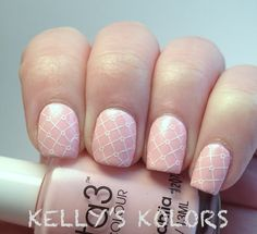 Delicate nails  www.kellyskolors.com
