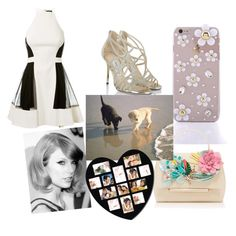 """party kisses"" by puppylover409 ❤ liked on Polyvore featuring David Koma, Jimmy Choo and Delpozo"