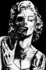 Marilyn Monroe, skull, and art image Marilyn Monroe Tattoo, Marilyn Monroe Artwork, Dark Fantasy Art, Dark Art, Tattoo Caveira, Memento Mori, Catrina Tattoo, Arte Punk, Bd Art