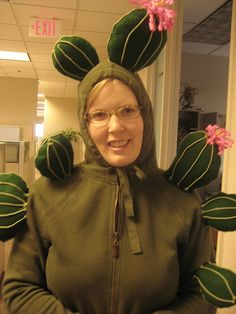 My cactus costume by Misty Garrick Miller, via Flickr