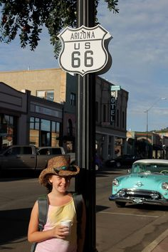 Route 66, Williams AZ, by Ron Redfern