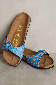 ead5340aac1 Birkenstock Madrid Floral Slides Floral Print Shoes
