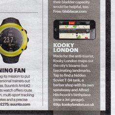 Gotta post this again @ShortList magazine #appoftheweek #shortlist #London #kookylondon #App #stillthesameweek #just! #england #greatbritain  #apple #appstore #quirky #kooky #facts #trivia