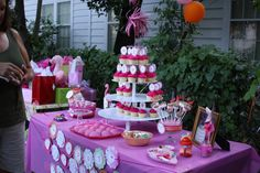 Pink Flamingo party from Kara's Party Ideas