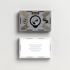 Business Card template designed by Richard Hogg for Strut and Fibre's Ambassador Collection.