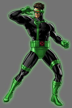 Green Cyclops | 23 Heroes Who Would Make Incredible Green Lanterns