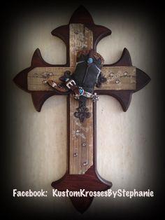 Western Cowboy Cross