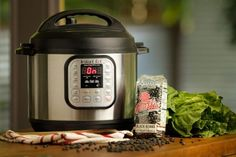 Ingredients: , rinsed and sorted Directions: Add all ingredients to the Instant Pot. Cover, twist to lock the lid, and turn the valve to sealing. Press the Beans