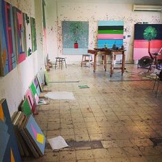 "247 Likes, 2 Comments - Guy Yanai (@guy_yanai) on Instagram: ""The old studio exactly four years ago"""