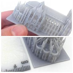 #3d #Printed Architectural model. Start making your own 3d prototype now at: http://www.mylocal3dprinting.com More