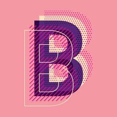 Letter B typography vector. Choose from thousands of-Buchstabe B Typografie Vektor. Wählen Sie aus Tausenden von kostenlosen Vektoren, ClipArt-Des… Letter B typography vector. Choose from thousands of free vectors, clip art designs, - Typography Poster Design, Graphic Design Posters, Lettering Design, Graphic Design Inspiration, Typography Letters, Type Posters, Calligraphy Letters, Typography Quotes, Graphic Art