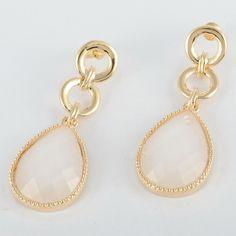 Noble Stud Dangle Earrings