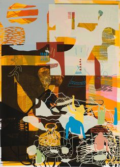 palefroi are colectivo futurists - Colectivo Futuro City Collage, Love Collage, City Illustration, Pattern Illustration, Collaborative Art Projects, Abstract City, Paintings I Love, Art Sketchbook, Painting & Drawing