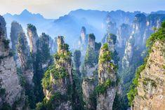 Montanhas Tianzi, China.