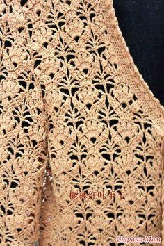 Diy Crafts - crochet beauty flower stitch for fashion - crafts ideas - crafts for kids Source by somklaing Pull Crochet, Gilet Crochet, Mode Crochet, Crochet Jacket, Crochet Cardigan, Crochet Motif, Crochet Shawl, Crochet Baby, Knit Crochet