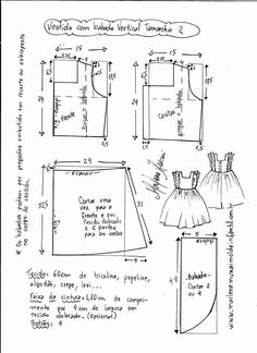 Scheme for a lovely pinafore dress
