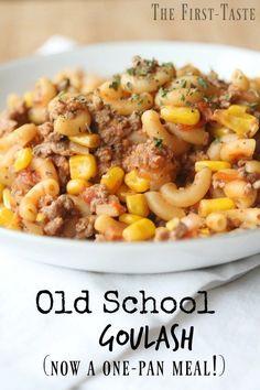 Old School Goulash