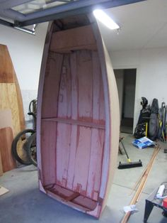 Optimist sailboat build - Step by step instructions