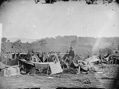319. Confederate Wounded at Smith's Barn with Dr Anson Hurd 14th Indiana  Volunteers in Attendance after the Battle of Antietam ñ Near Keedysville,  MD, ...